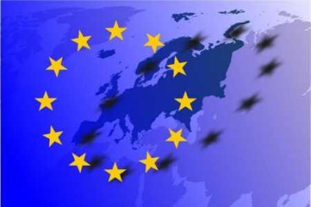 EU map and flag